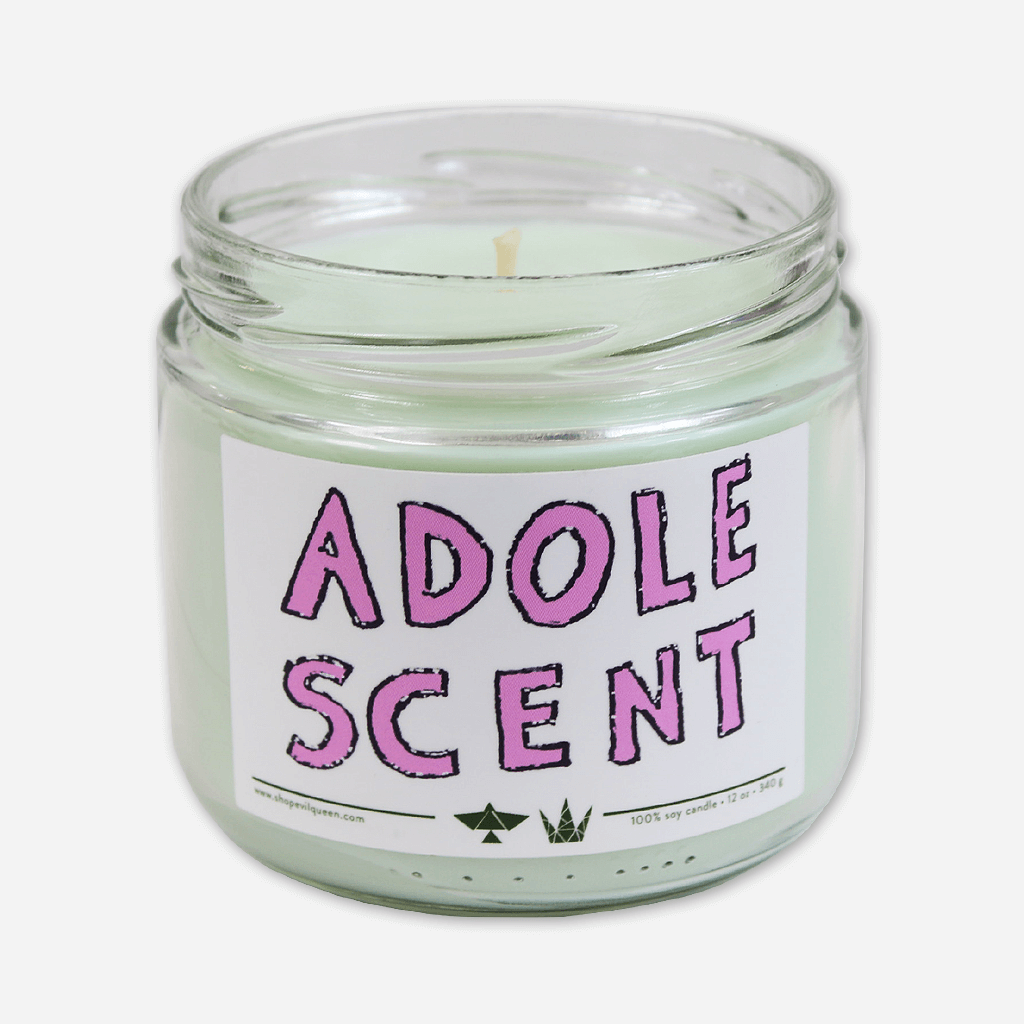 Adolescent Candle: A Lostboycrow x Evil Queen Collaboration