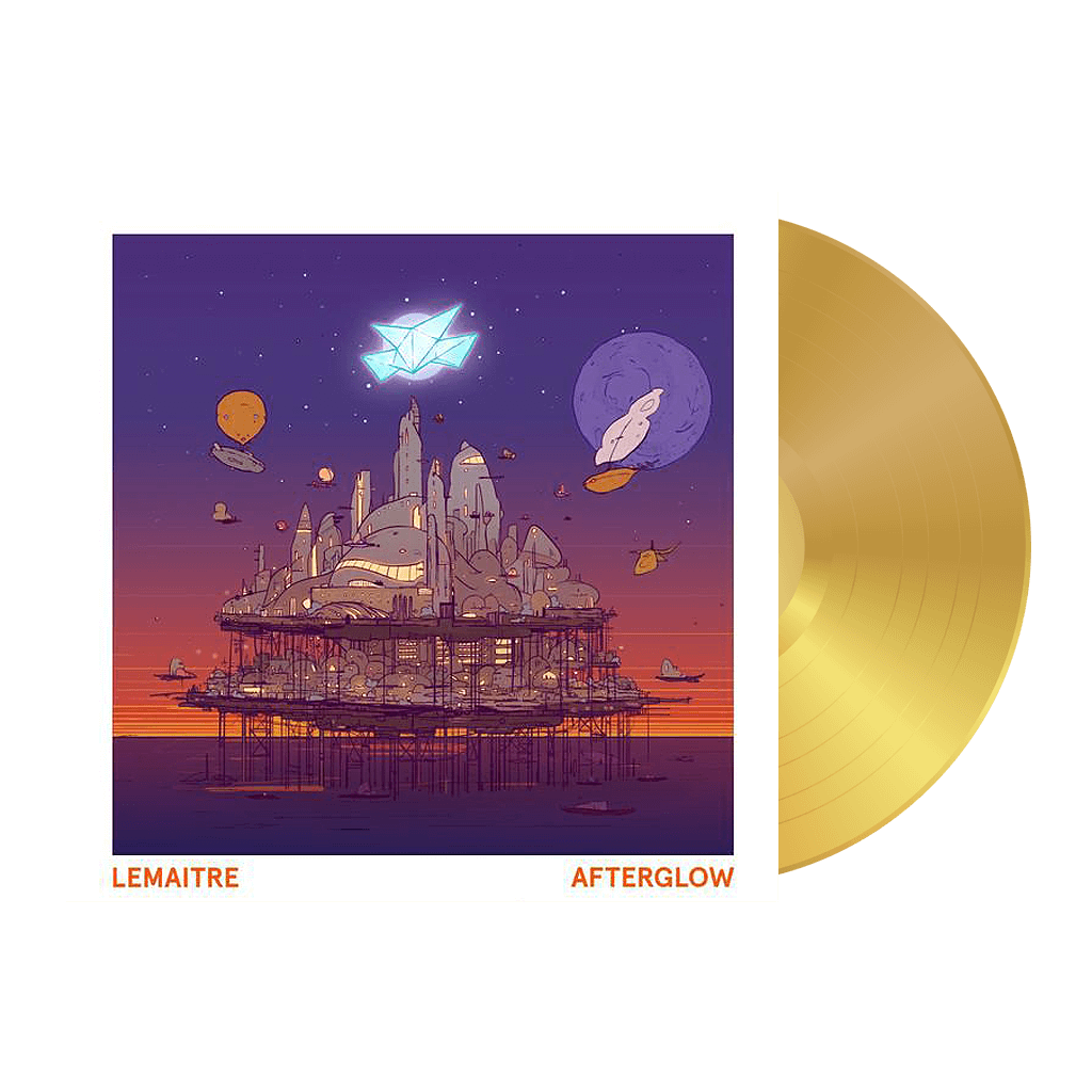 Damaged Afterglow Limited Edition Gold Vinyl