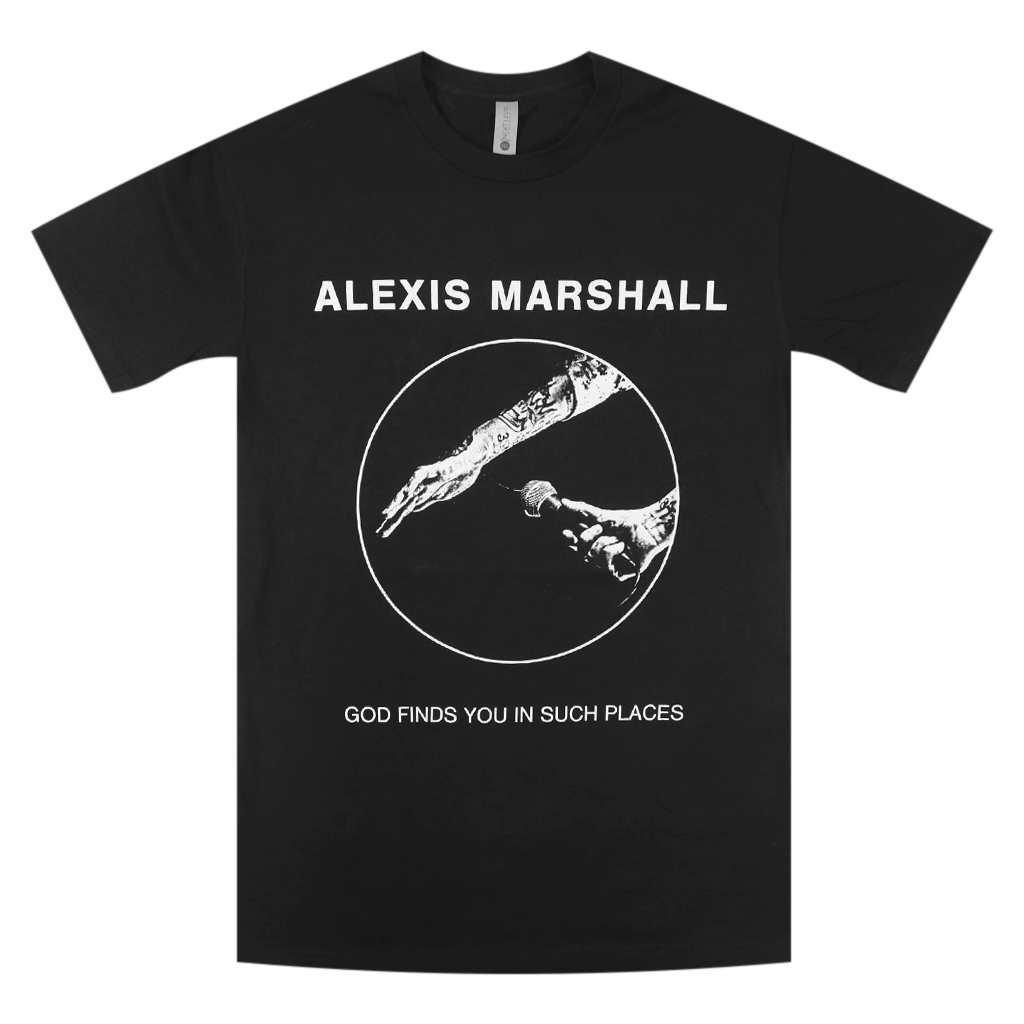 """God"" Alexis Marshall Trilogy Black T-Shirt"
