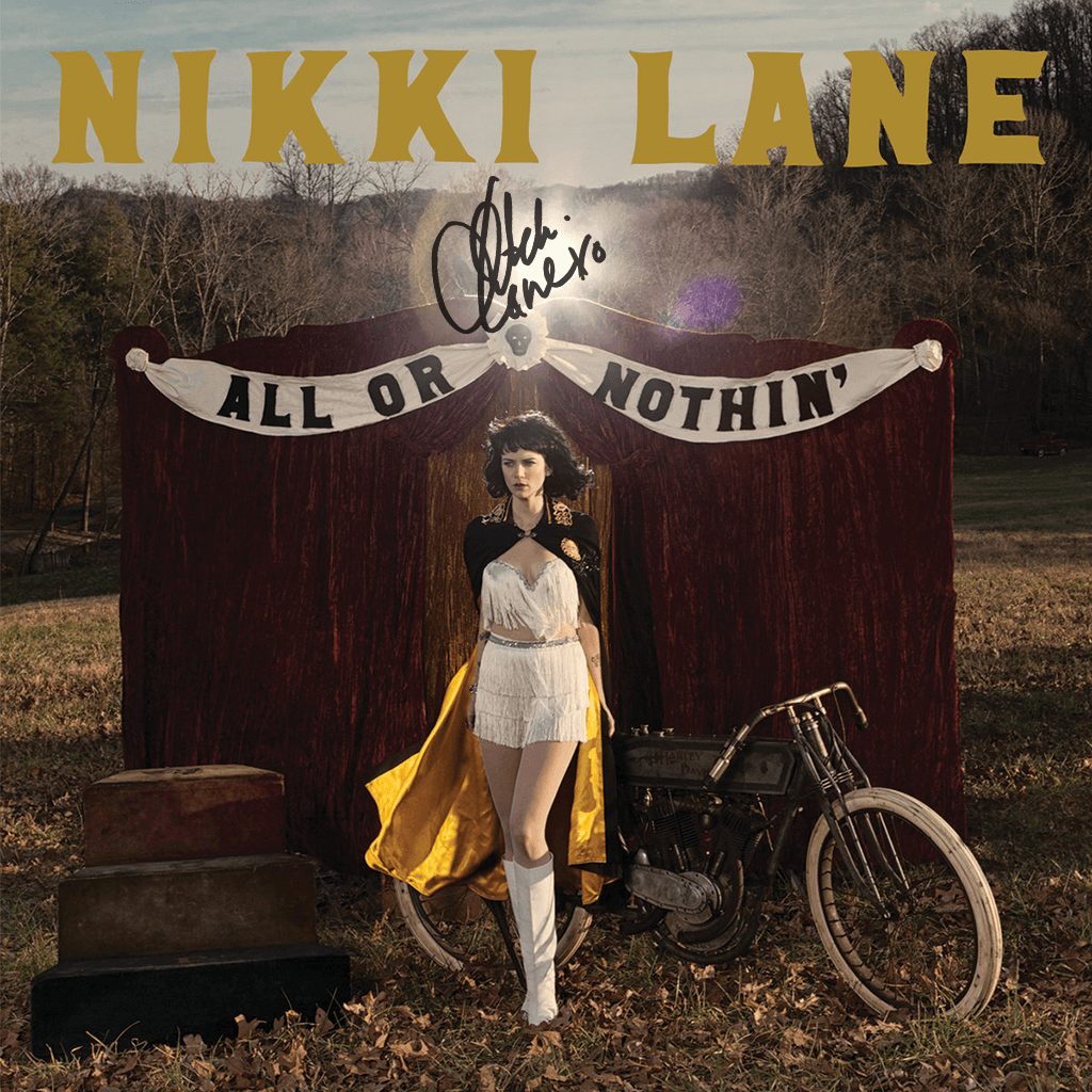Signed All or Nothin Vinyl