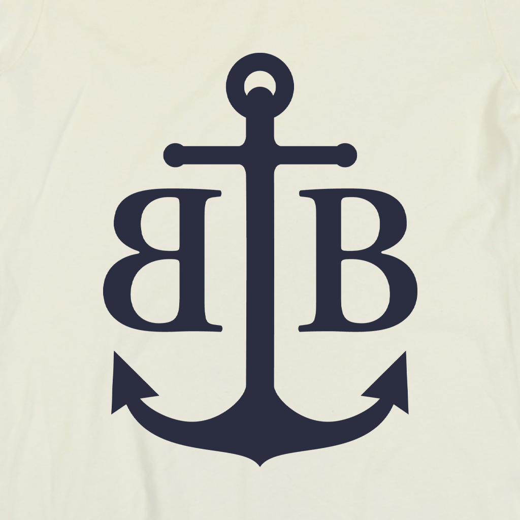 Anchor Cream Women's Ringer T-Shirt