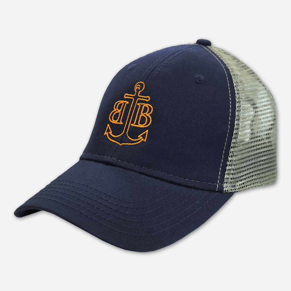 Anchor Mesh Adjustable Hat