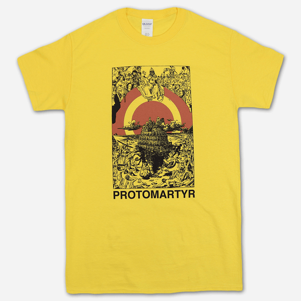 Ancient Daisy T-Shirt by Protomartyr for sale on hellomerch.com