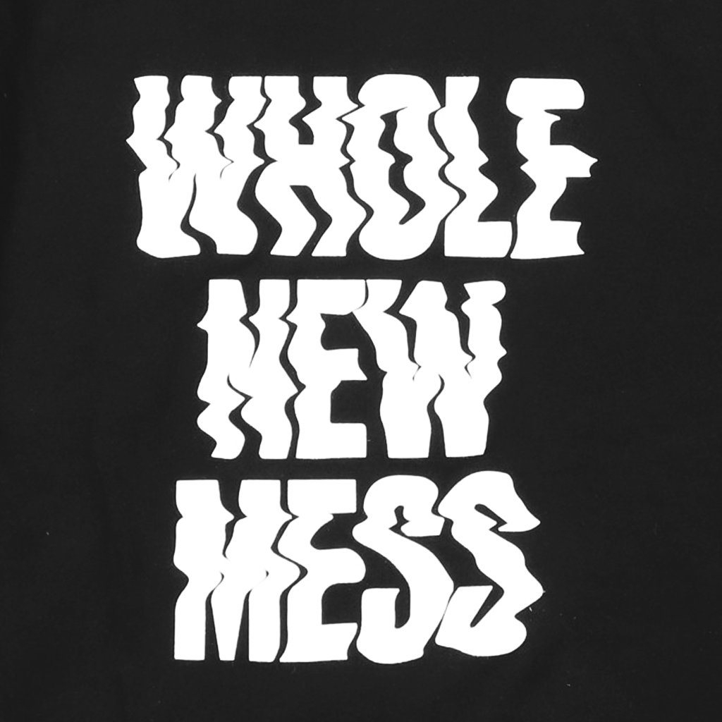 Whole New Mess Black Hoodie