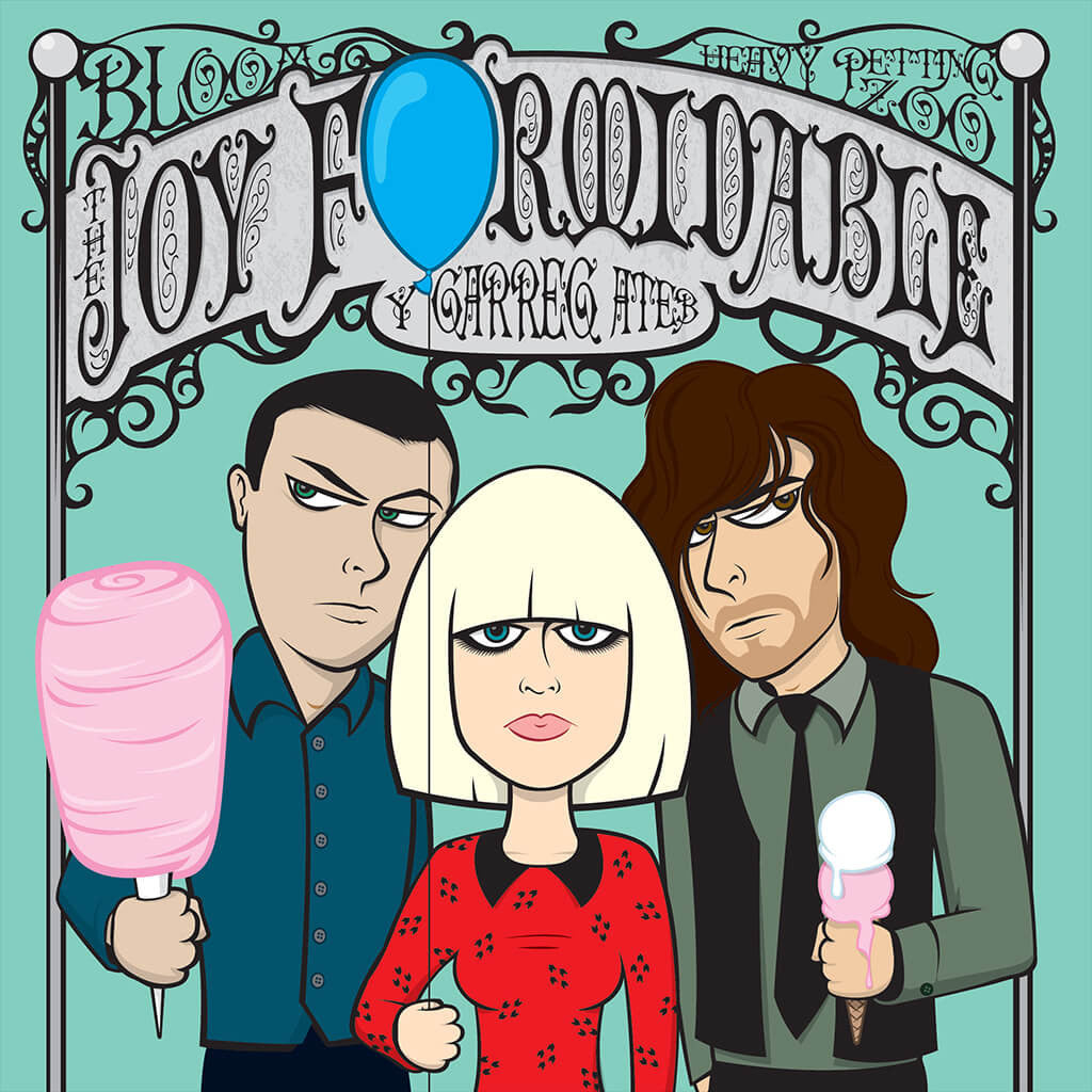Aruthrol C - Y Garreg Ateb Single Digital - The Joy Formidable - Hello Merch