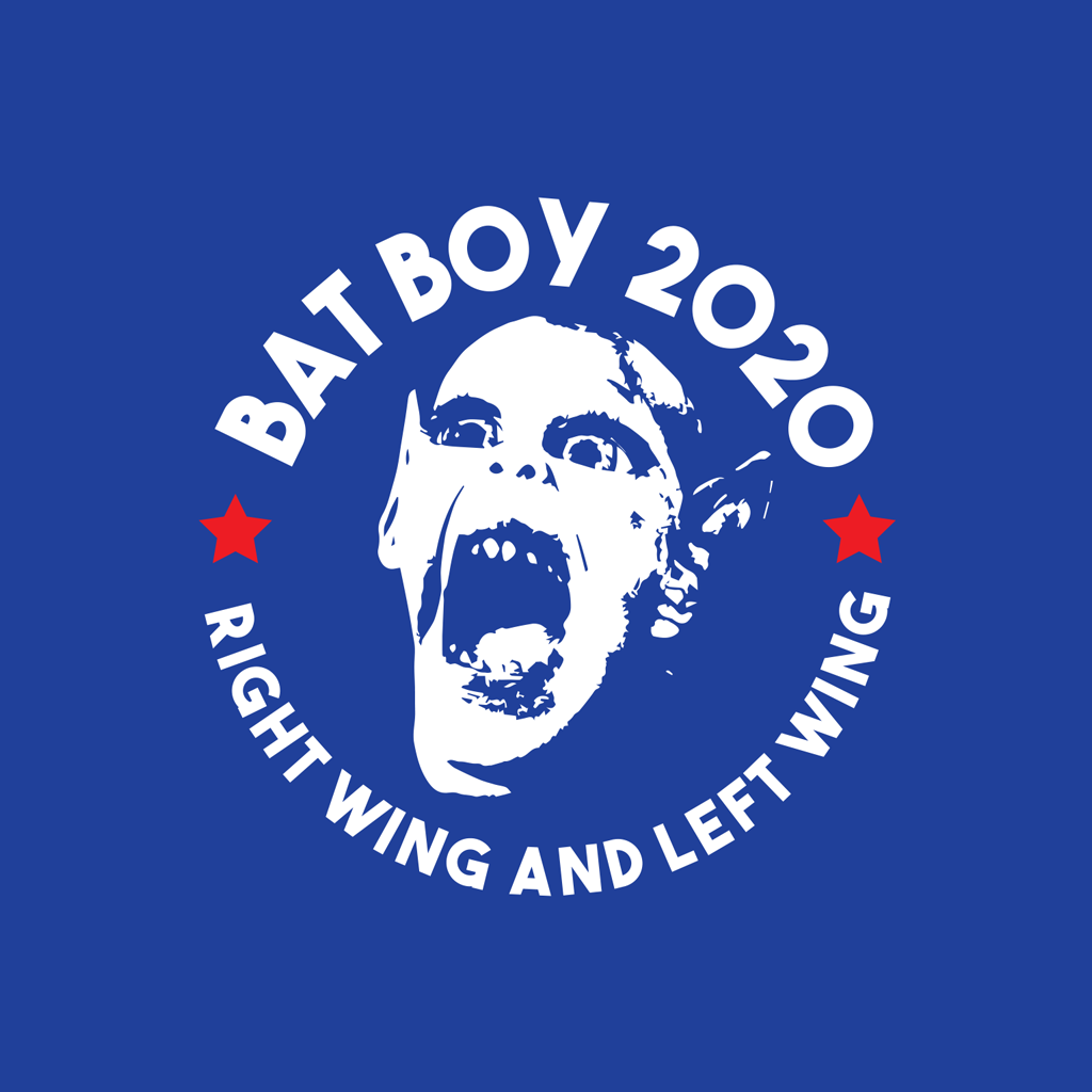 Bat Boy for President Button 2-Pack