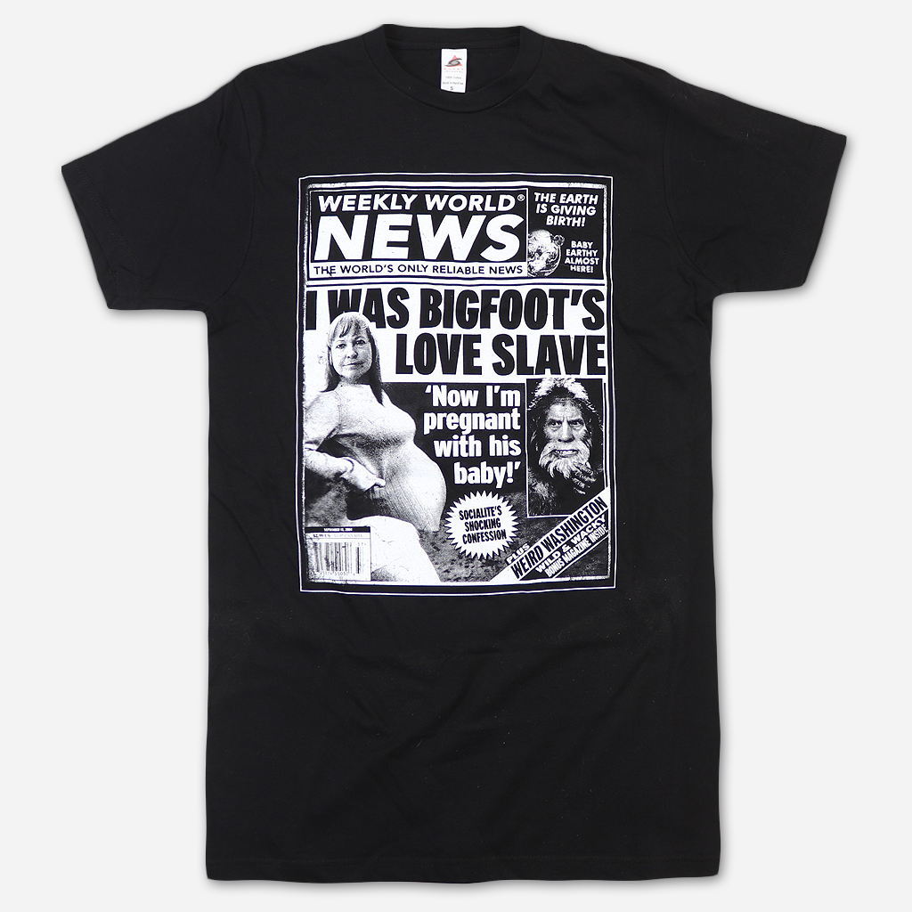 Bigfoot Black T-Shirt