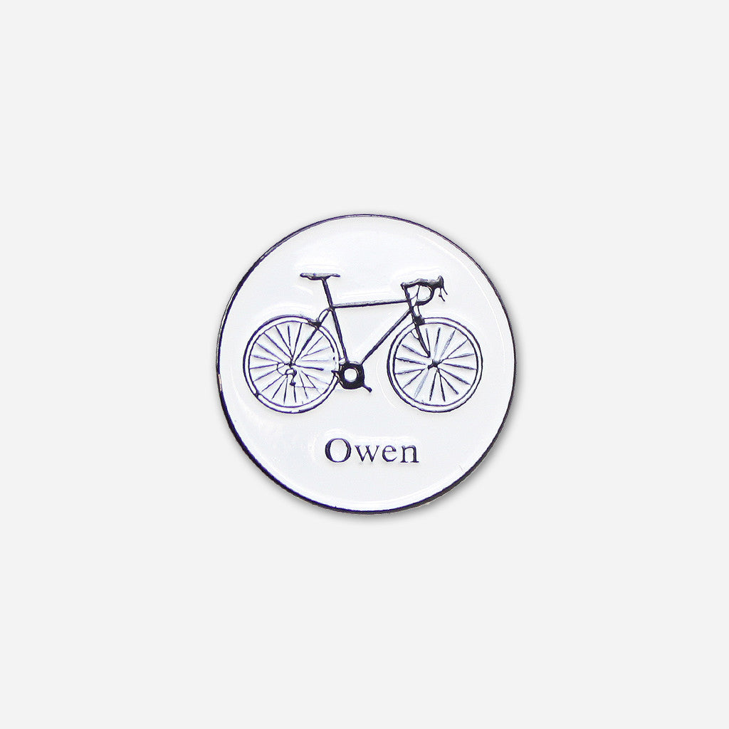 Bike Pin - Owen - Hello Merch