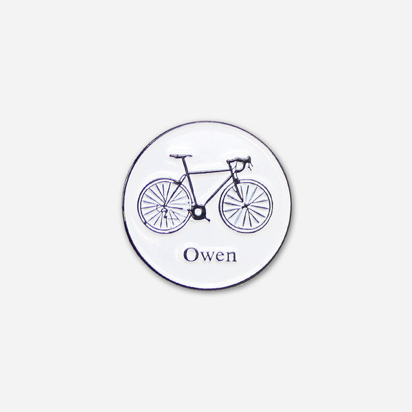 Bike Pin by Owen for sale on hellomerch.com