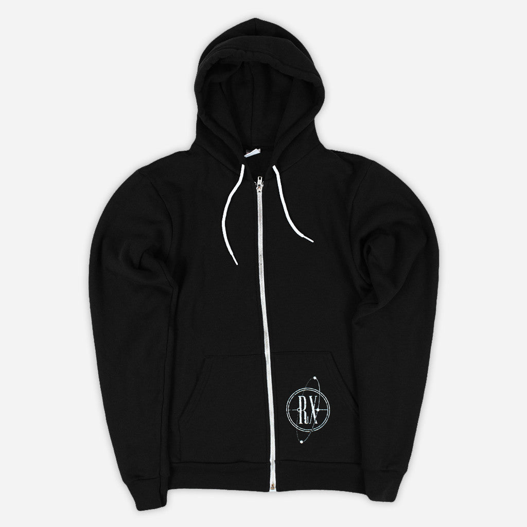 RXB Spaceman Black Zip Hoodie - RX Bandits - Hello Merch