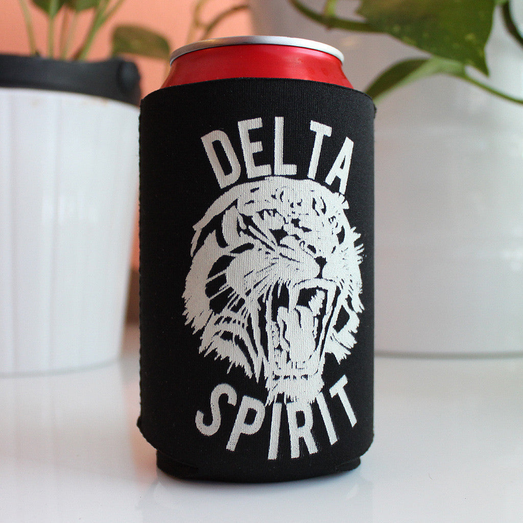 Tiger Black Koozie