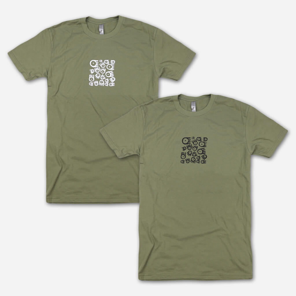 illy Logos Military Green T-Shirt