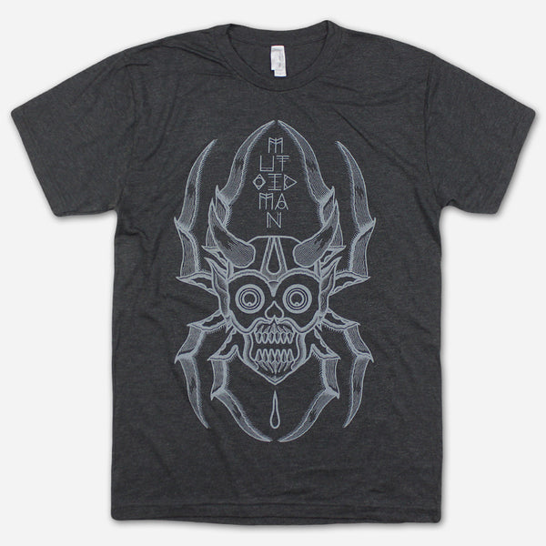 Bonethrower Black Tri-Blend by Mutoid Man for sale on hellomerch.com