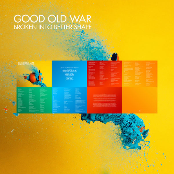 Broken Into Better Shape Digital Booklet by Good Old War for sale on hellomerch.com