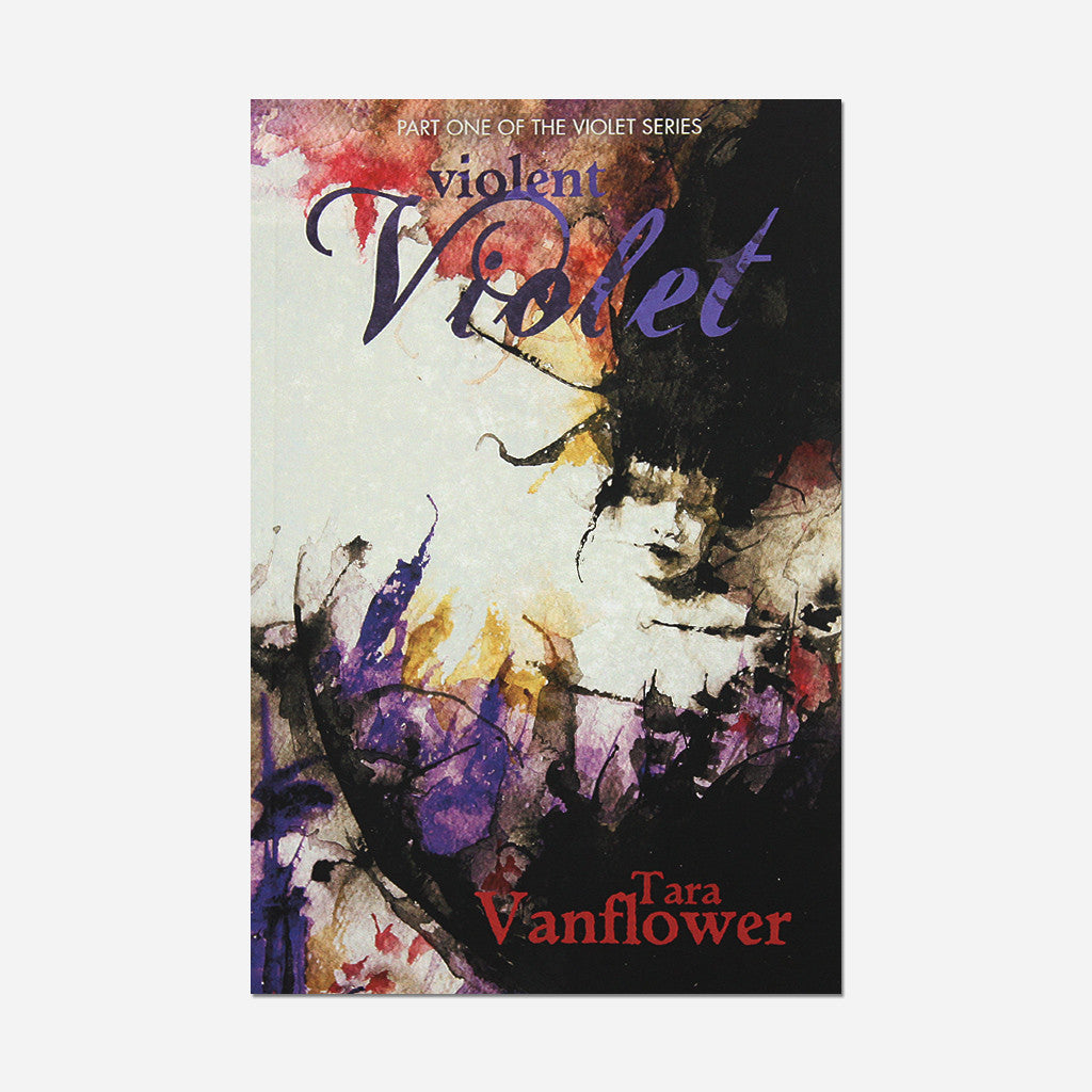 Violent Violet: Part One Of The Violet Series Signed Paperback