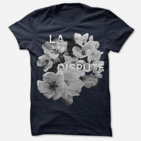 Bouquet Navy T-Shirt by La Dispute for sale on hellomerch.com
