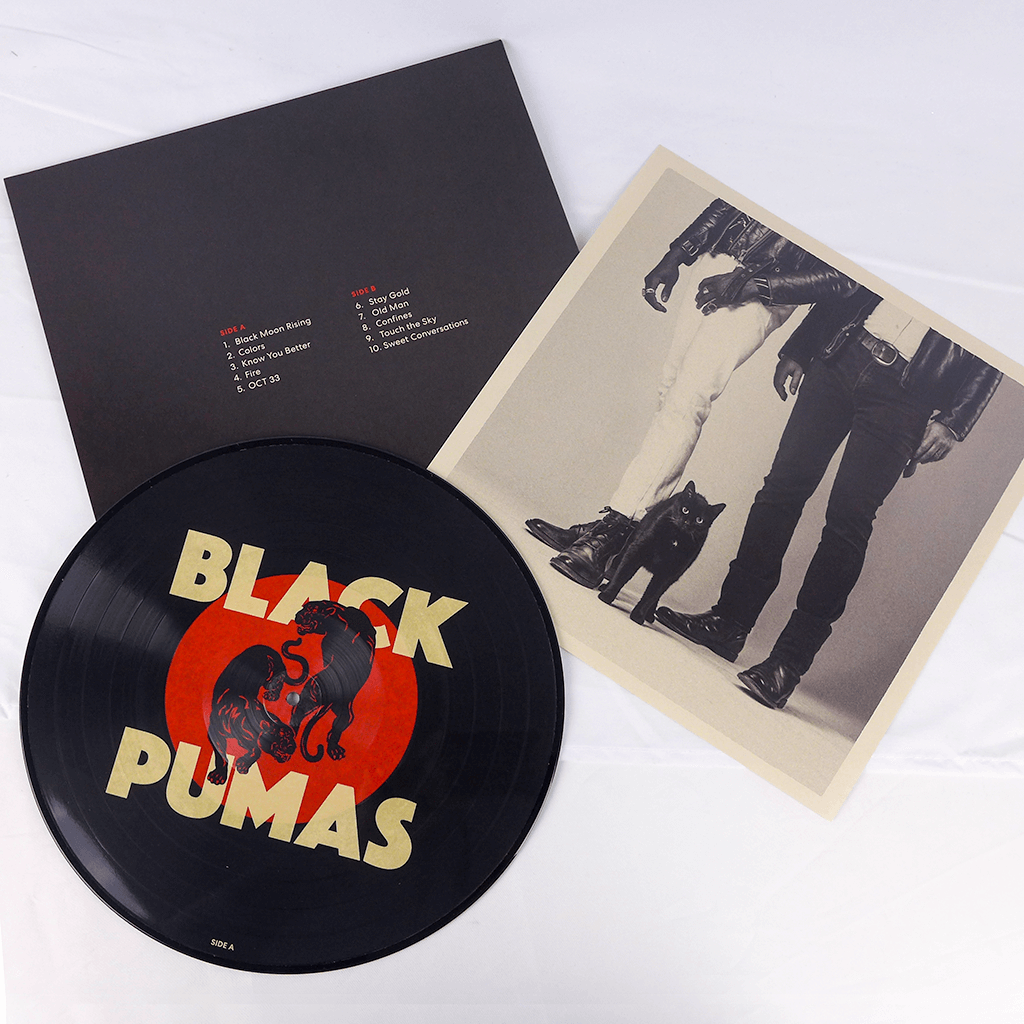 "Black Pumas Limited Edition Picture Disc 12"" Vinyl"