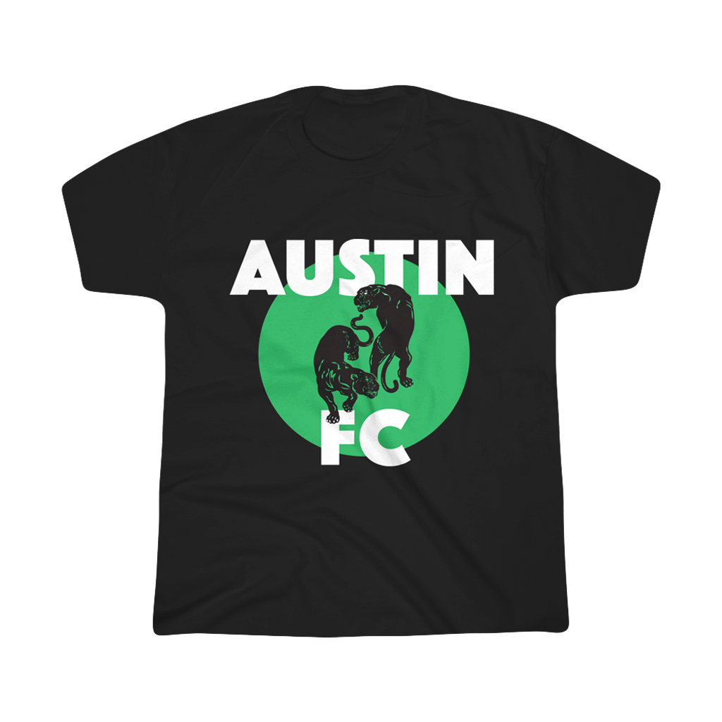 "Austin FC x Black Pumas ""Know You Better"" Youth Black T-shirt"