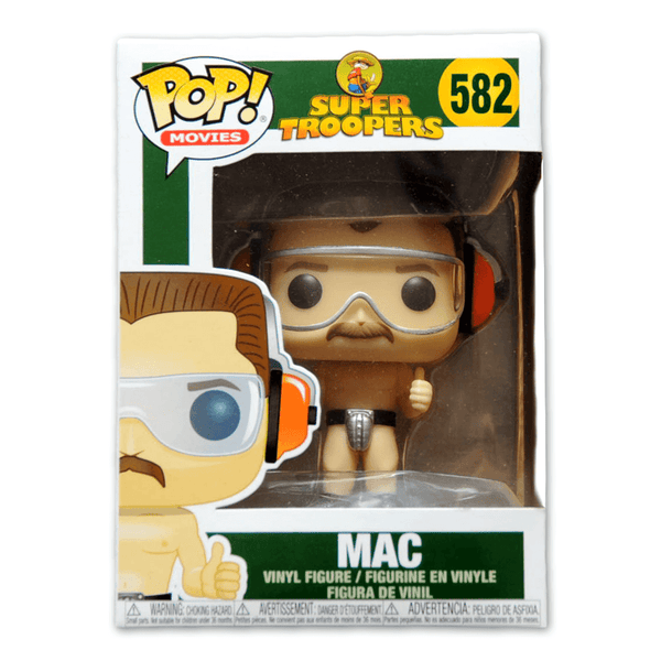 Pop! Movies: Super Troopers Mac by Broken Lizard for sale on hellomerch.com