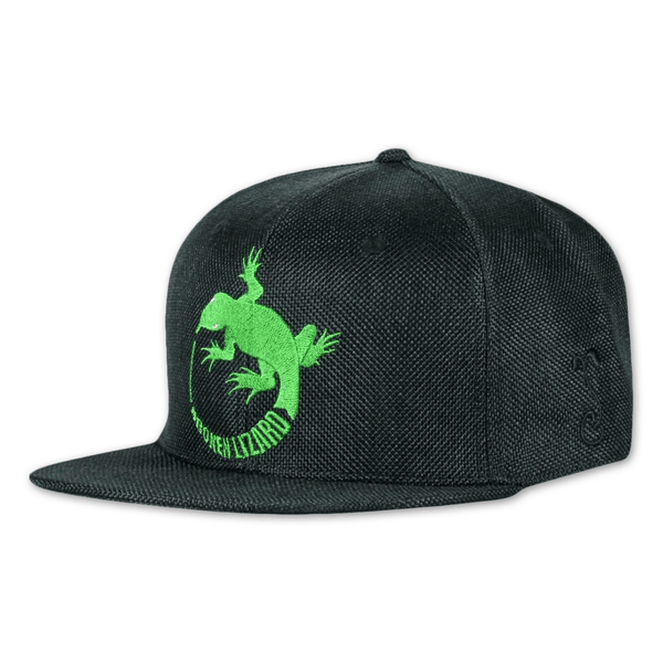 Broken Lizard Logo Black Snapback Hat by Broken Lizard for sale on hellomerch.com