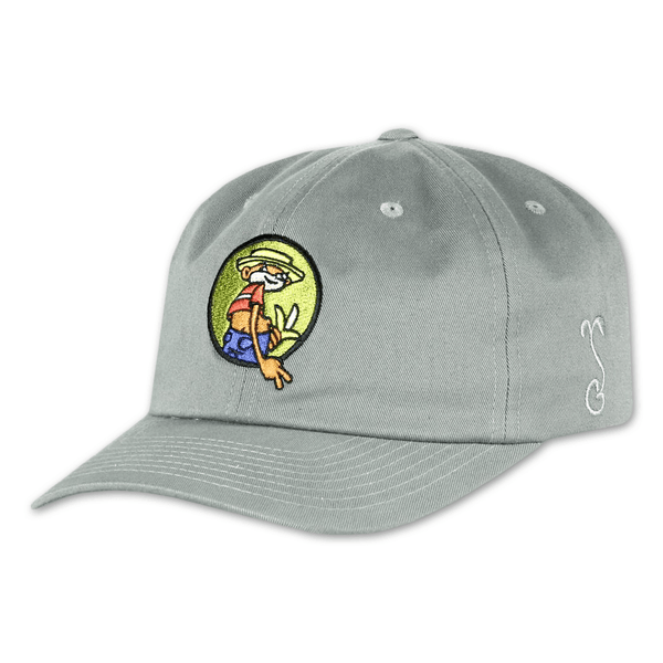Johnny Chimpo Grey Dad Hat by Broken Lizard for sale on hellomerch.com