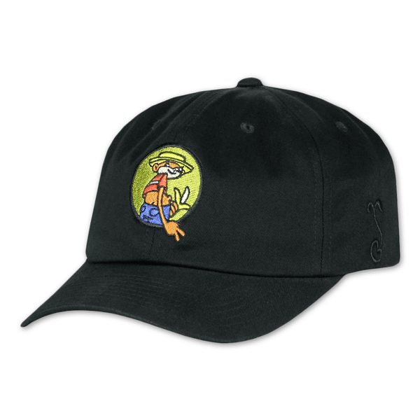 Johnny Chimpo Black Dad Hat by Broken Lizard for sale on hellomerch.com