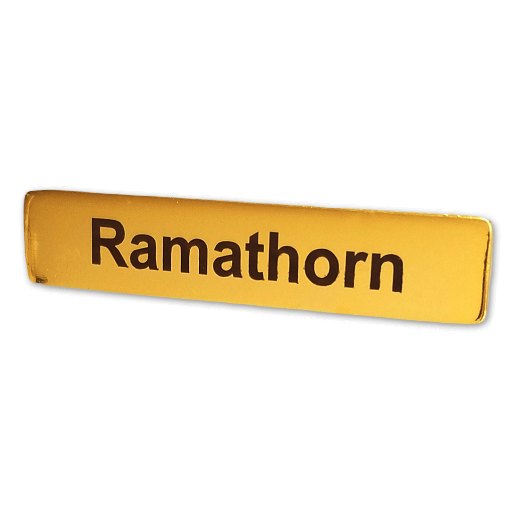 Ramathorn Name Badge