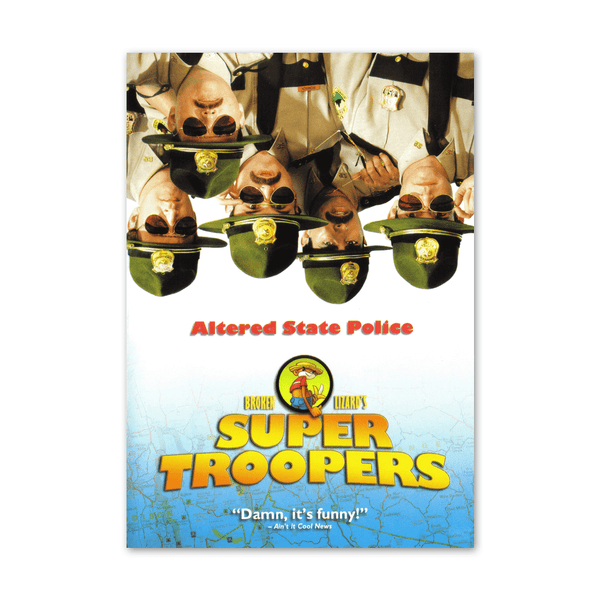 Super Troopers Blu-ray by Broken Lizard for sale on hellomerch.com