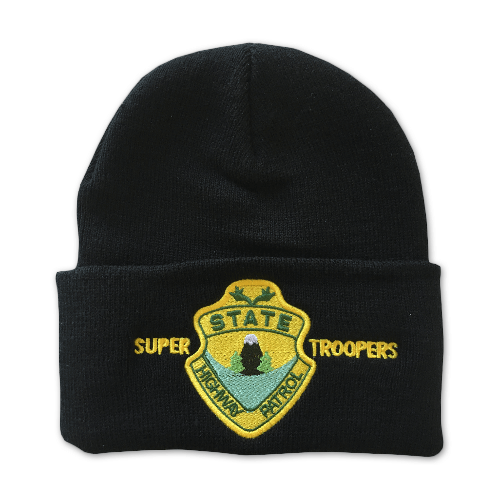 Super Troopers Black Beanie