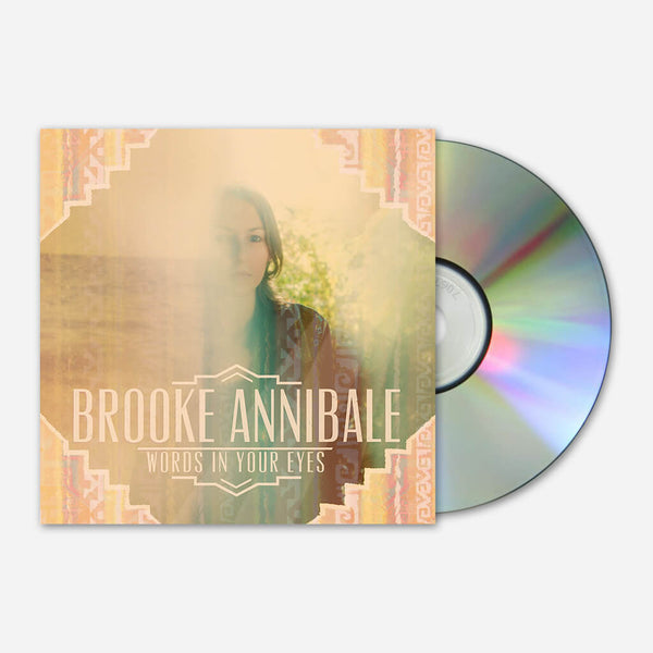 Words In Your Eyes EP CD by Brooke Annibale for sale on hellomerch.com