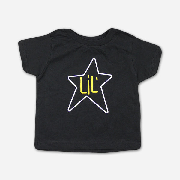 Big Star - Lil' Star Black Kids T-Shirt by Ardent Music for sale on hellomerch.com