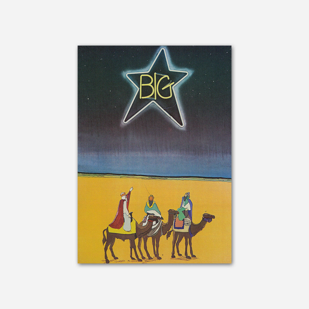 Big Star - Three Wise Men Greeting Cards