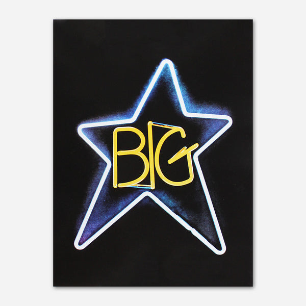 Big Star - Neon Poster by Ardent Music for sale on hellomerch.com