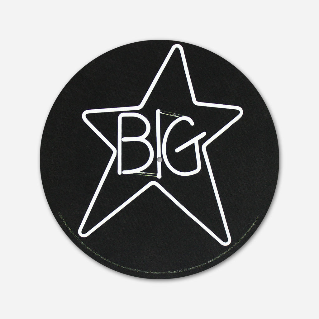 Big star - Neon Vinyl Glow In The Dark Slipmat