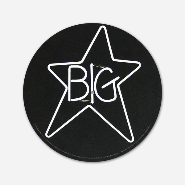 Big star - Neon Vinyl Glow In The Dark Slipmat by Ardent Music for sale on hellomerch.com