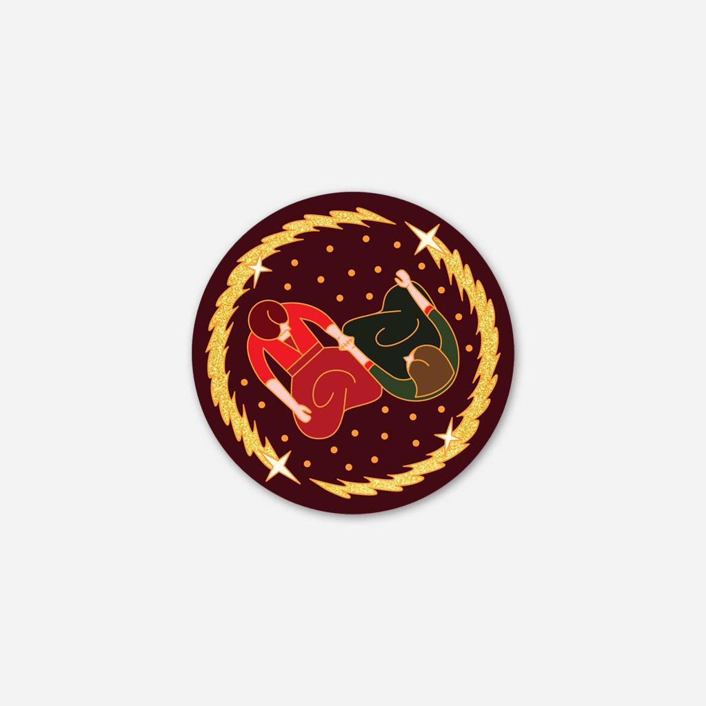 Queer Witch Enamel Pin