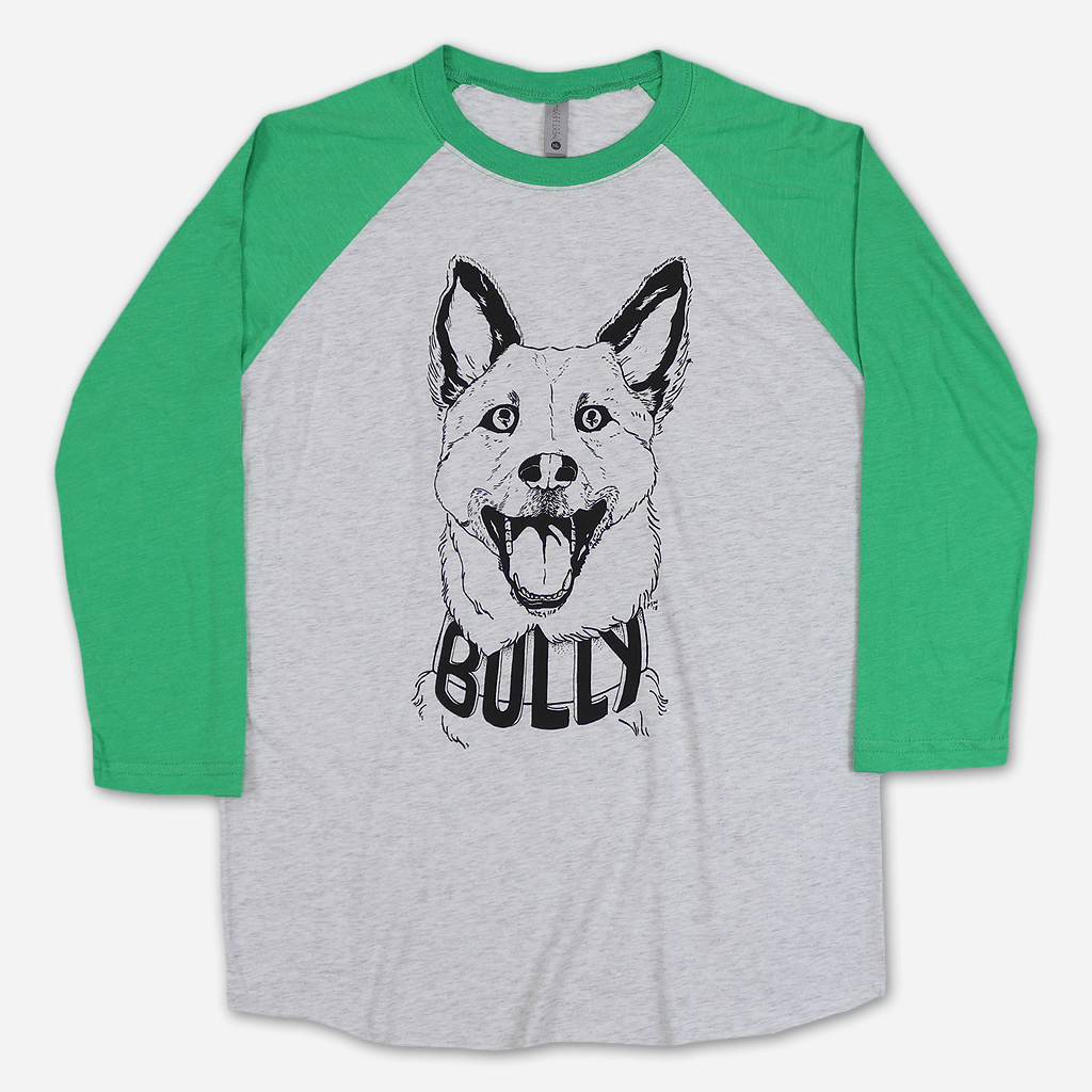 Mezzi Triblend Baseball T-Shirt - Bully - Hello Merch