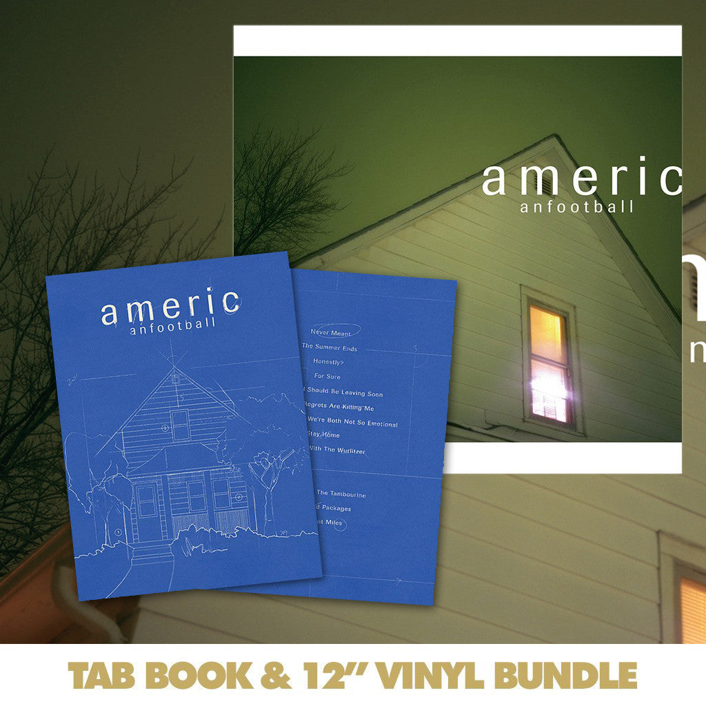 American Football: Transcriptions And Tablature Book Bundle