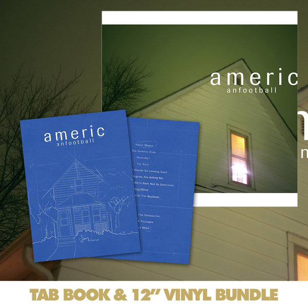 American Football: Transcriptions And Tablature Book Bundle by American Football for sale on hellomerch.com
