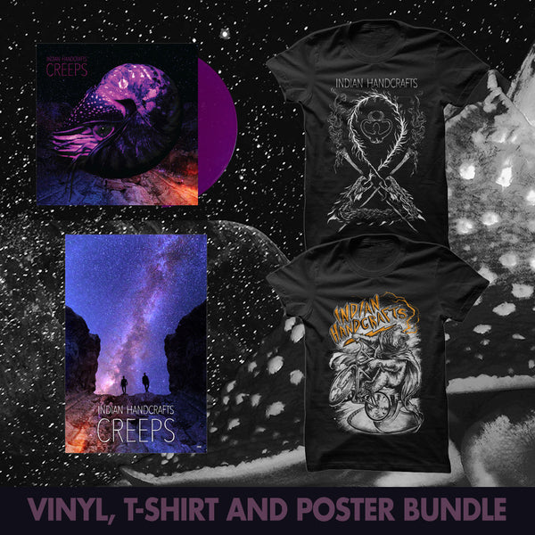 Creeps Vinyl Bundle by Indian Handcrafts for sale on hellomerch.com