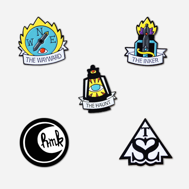 Limited Edition Half Moon Kids Pin Pack - Half Moon Kids - Hello Merch