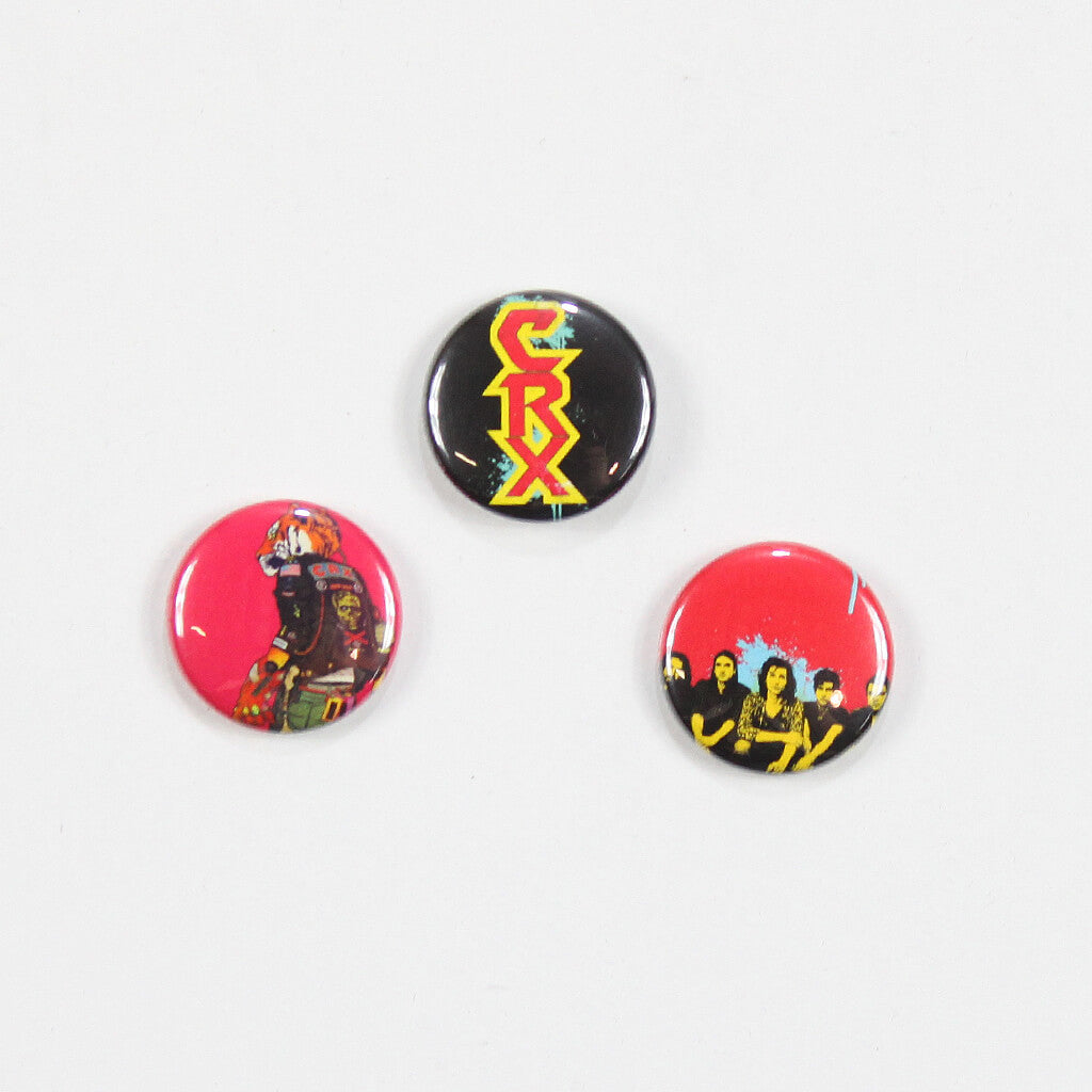 CRX Button 3-Pack - CRX - Hello Merch