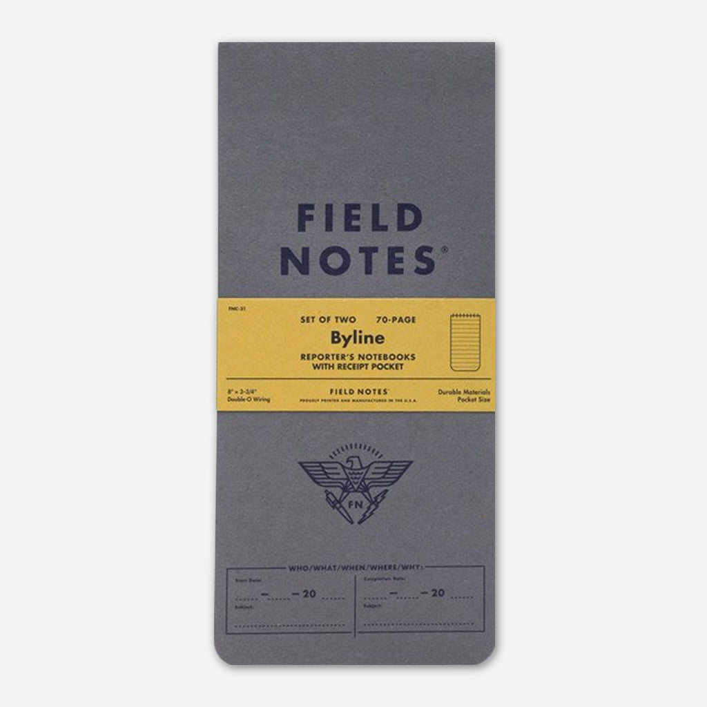 Byline 2-Pack - Field Notes - Hello Merch
