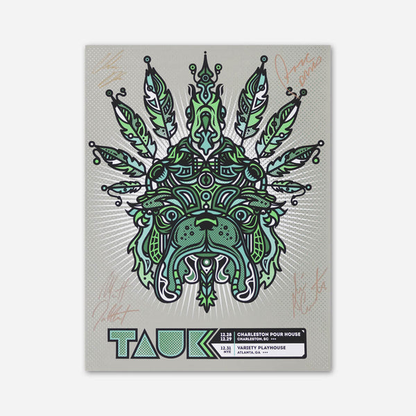 Bird Dog NYE Poster by TAUK for sale on hellomerch.com