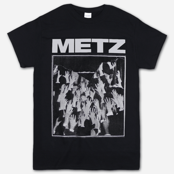 Hands Black T-Shirt by Metz for sale on hellomerch.com