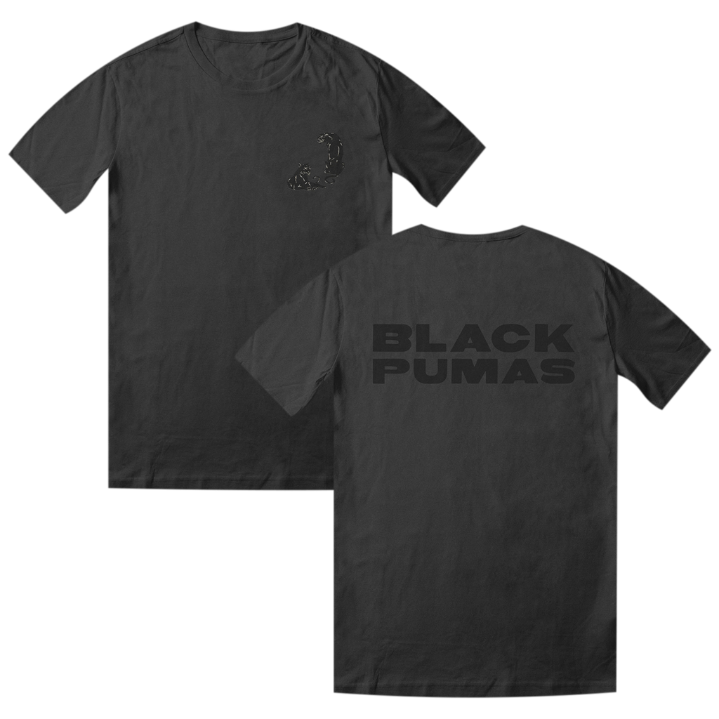 Deluxe Pocket Pumas Dark Grey T-Shirt