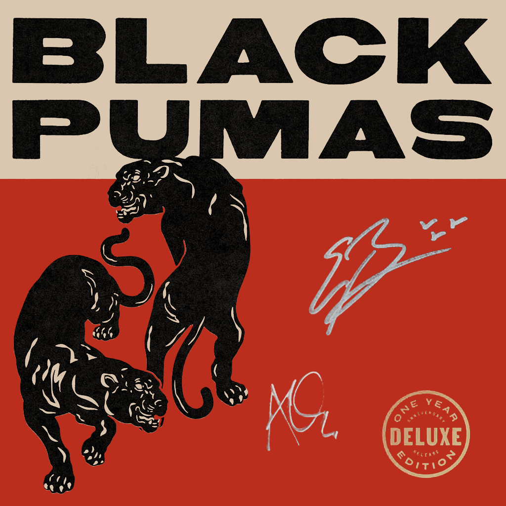 Signed Black Pumas Deluxe Edition Double Vinyl