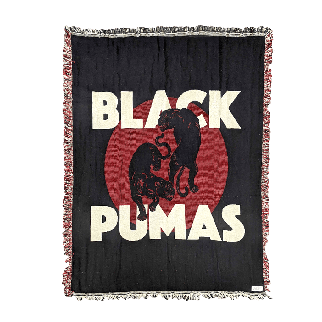 Double Puma Throw Blanket