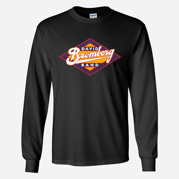David Bromberg Band Logo Black Long Sleeve by David Bromberg for sale on hellomerch.com