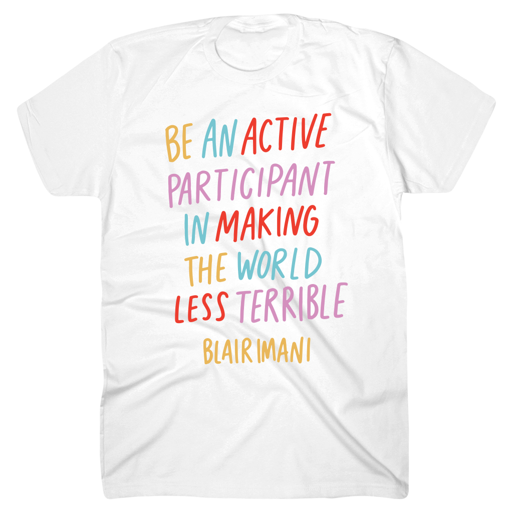 Be An Active White T-Shirt